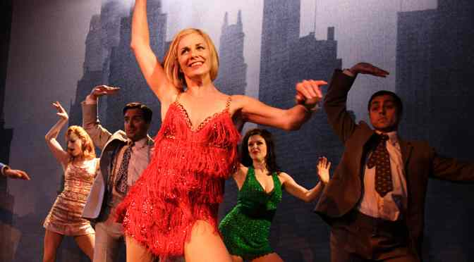 """""""Sweet Charity"""" at the Menier Chocolate Factory"""