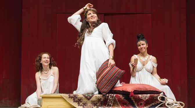 """""""Antony and Cleopatra"""" at Shakespeare's Globe"""