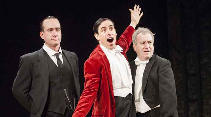 """Jeeves & Wooster in Perfect Nonsense"" at the Duke of York's"