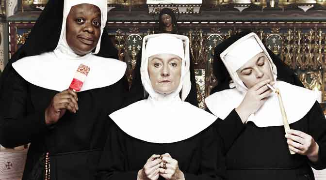 """Once A Catholic"" at the Tricycle Theatre"