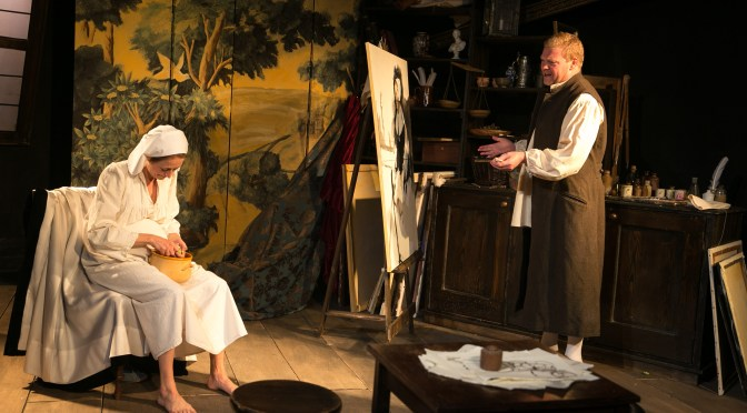 """Asking Rembrandt"" at the Old Red Lion Theatre"