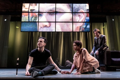 Andrew Scott with Amaka Okafor and Calum Finlay