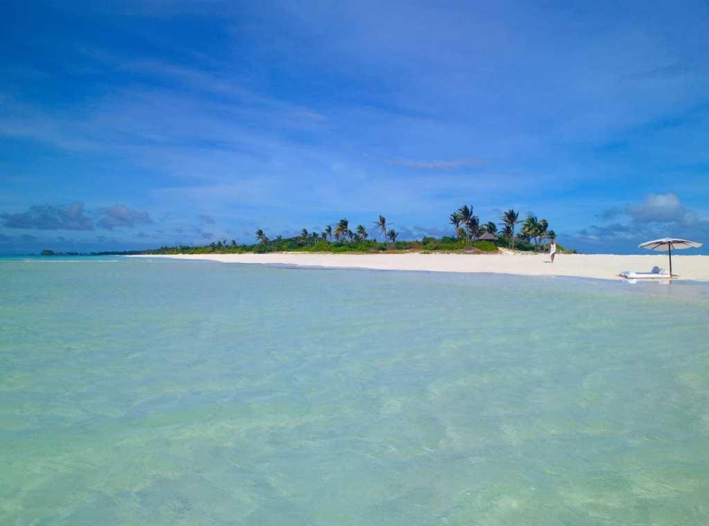 Amanpulo Island beach