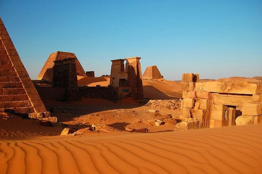 incredible places meroe sudan