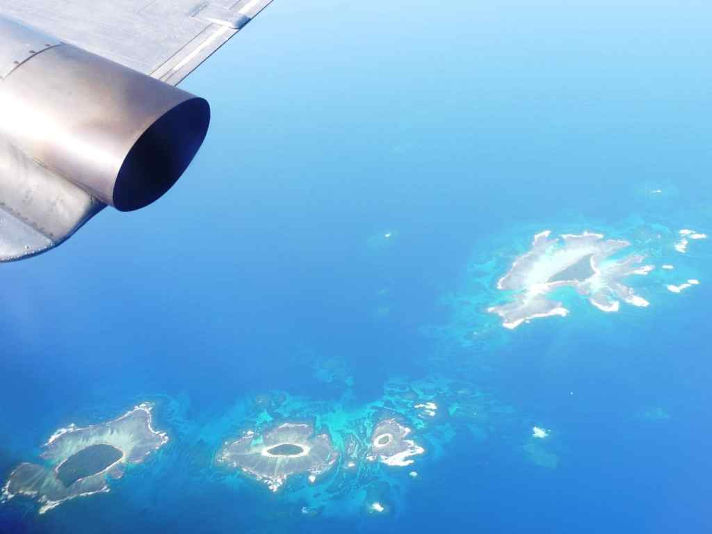 Nuku'alofa and the Tonga's islands