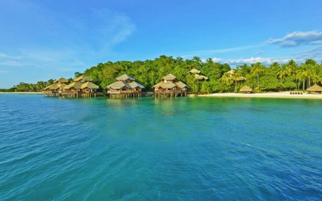 Pearl Farm Resort & Spa stilted bungalows