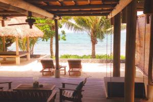 View from the Nikoi Island villa