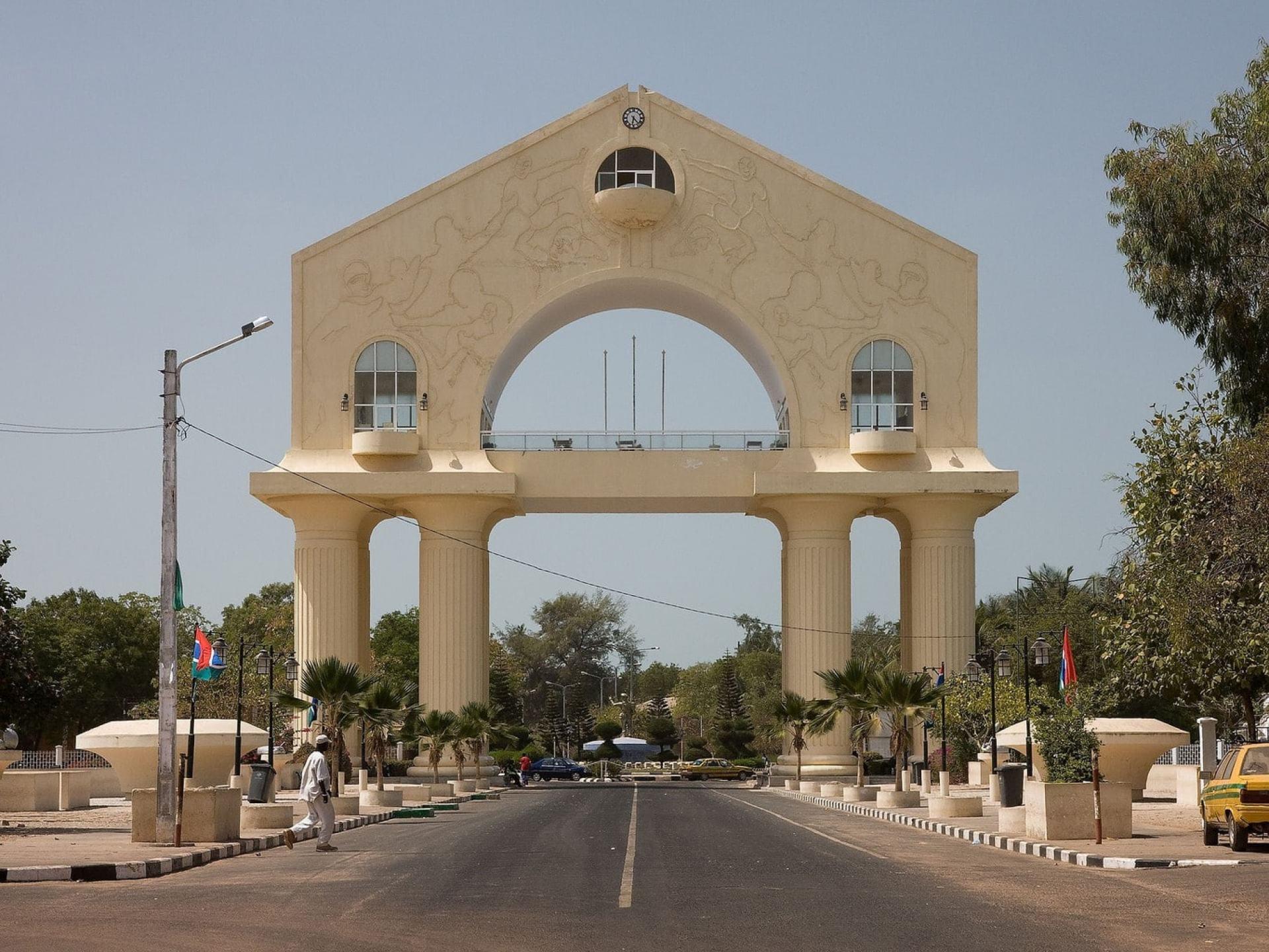 Banjul Arch, Gambia