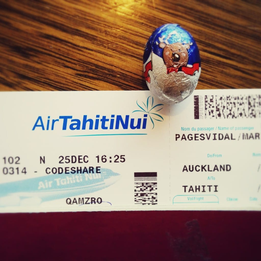 Boarding pass to Paradise