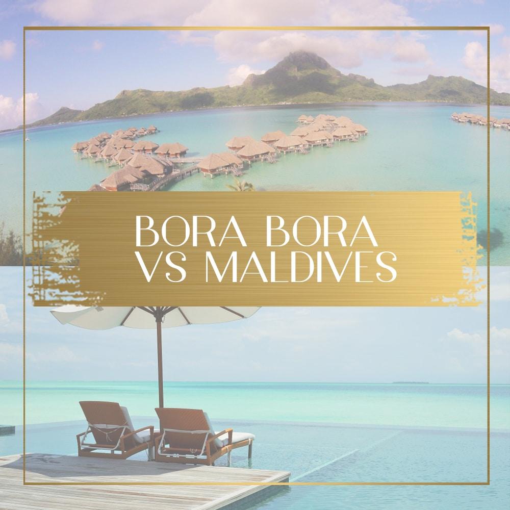 Maldives vs Bora Bora, where will you have the most unforgettable ...