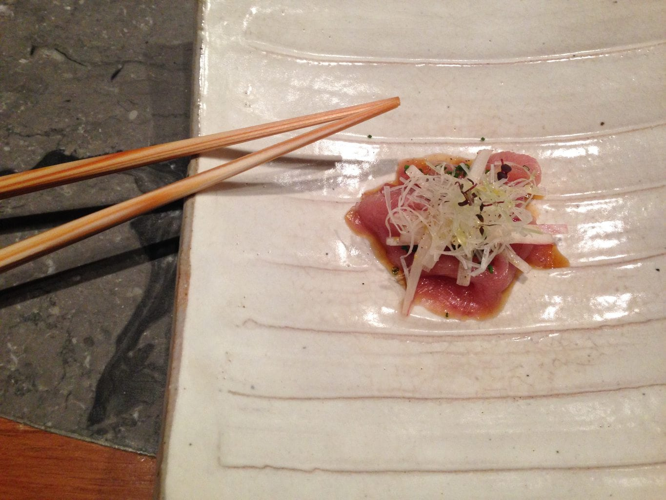 Waku ghin what a 600 a head dinner of rare seafood looks for What does a tuna fish look like
