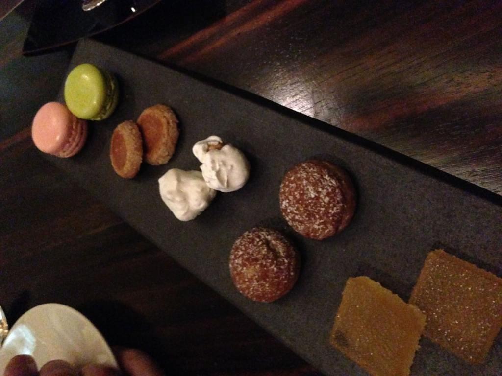 More dessert choices