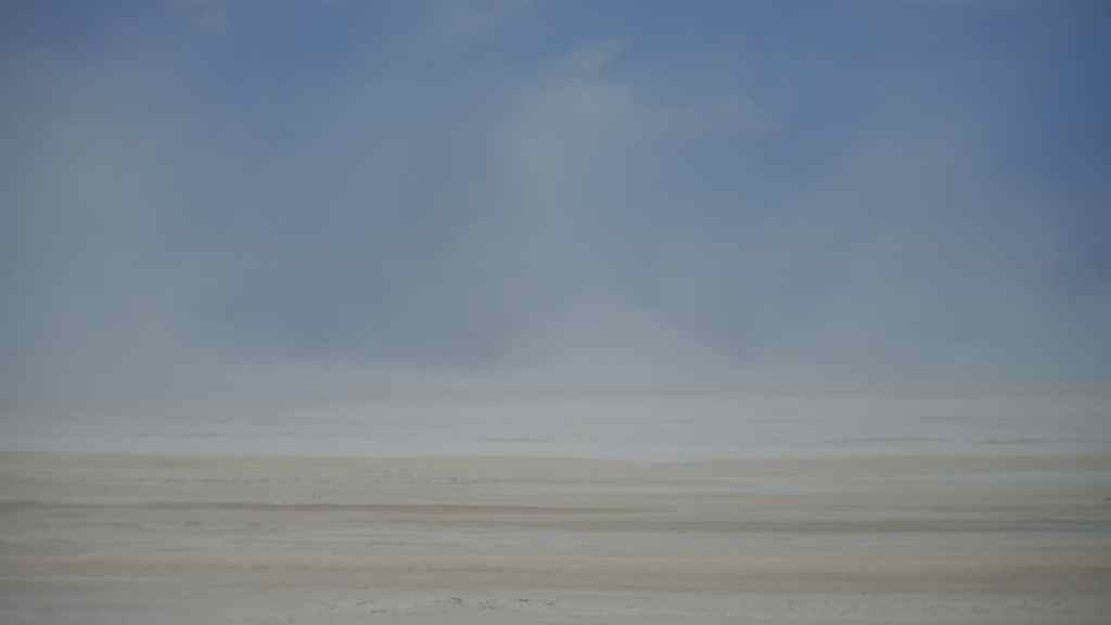 The dusty window of Lake Assal