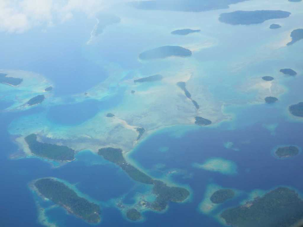 Solomon Islands From the air