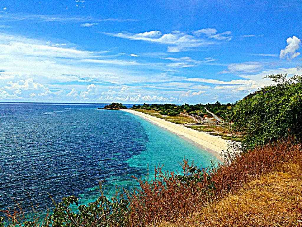 The beaches of Timor Leste
