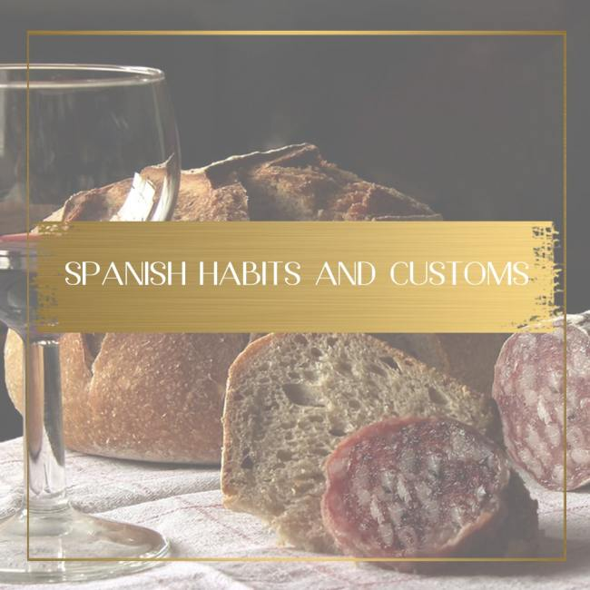 Spanish habits and customs feature