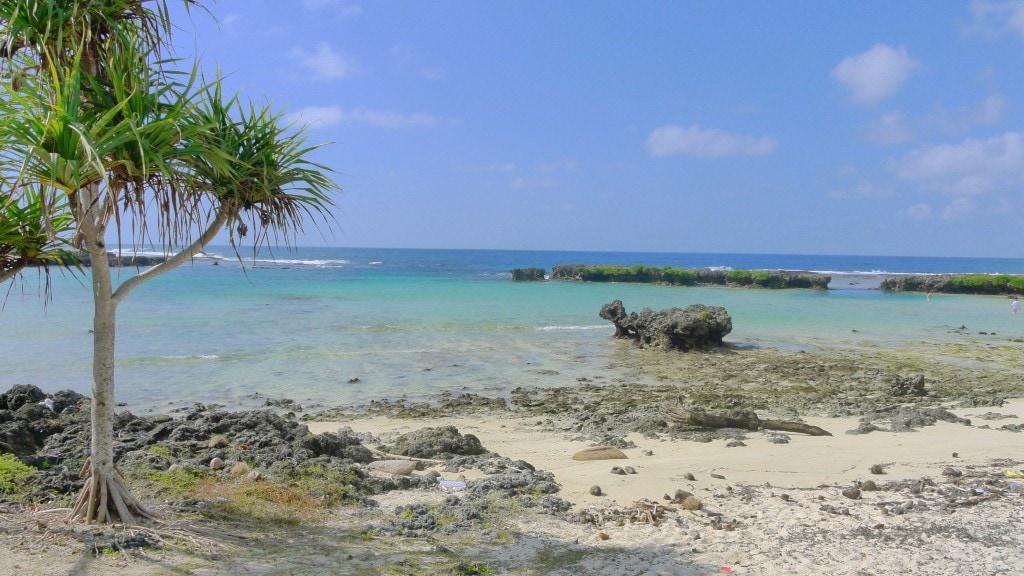 Eton Beach on Efate Island Vanuatu