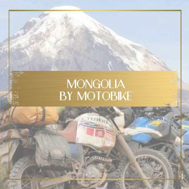 Mongolia by motorbike Feature