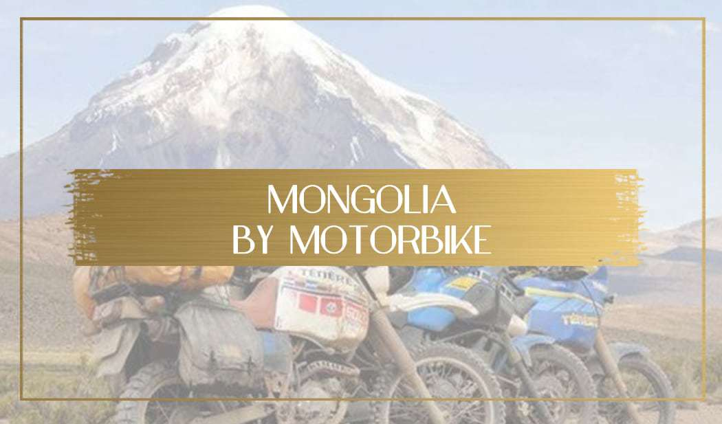 Mongolia by motorbike main