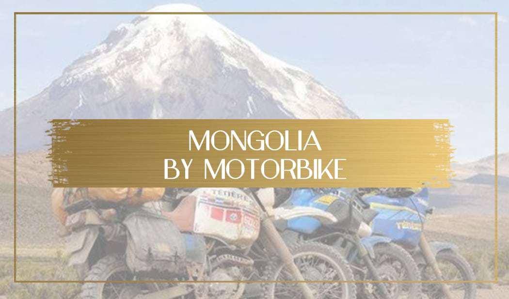 Mongolia by motorbike main