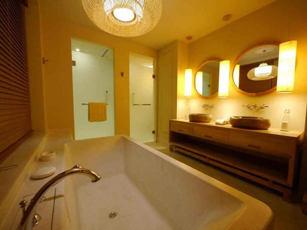 Six Senses Qing Chen Mountain bathtub