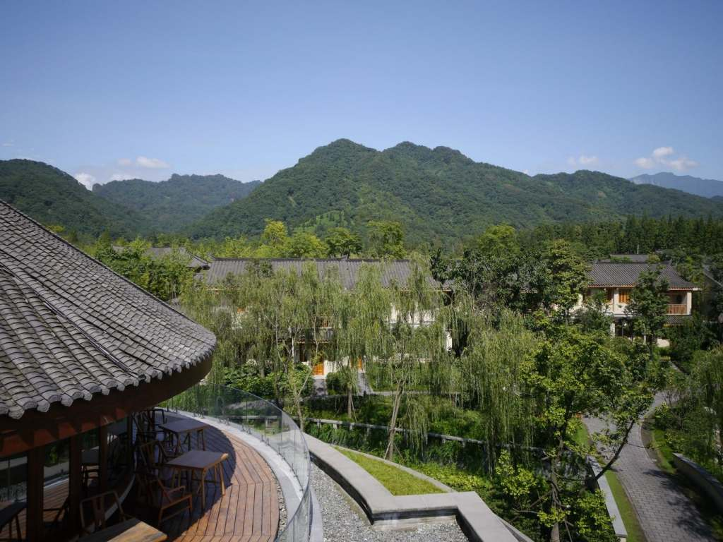 Qing Chen Mountain Perfectly blended into the surroundings