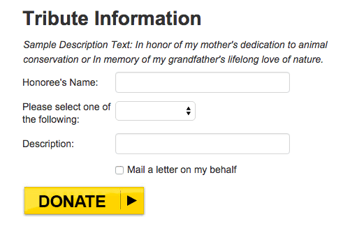 National Geographic donation