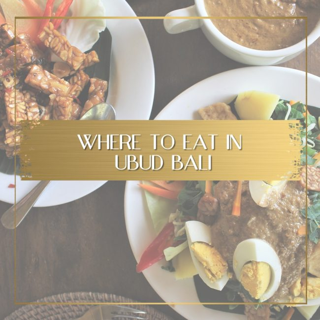 Where to eat in Ubud feature