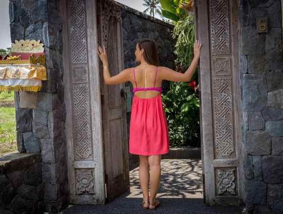 Chapung Se Bali VIlla entrance