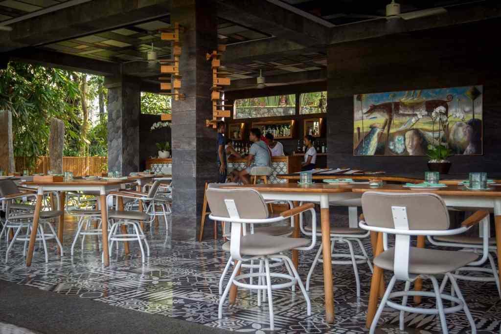 Chapung Se Bali restaurant interior