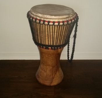 A djembe drum