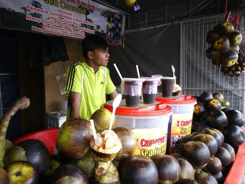 Unusual local fruits