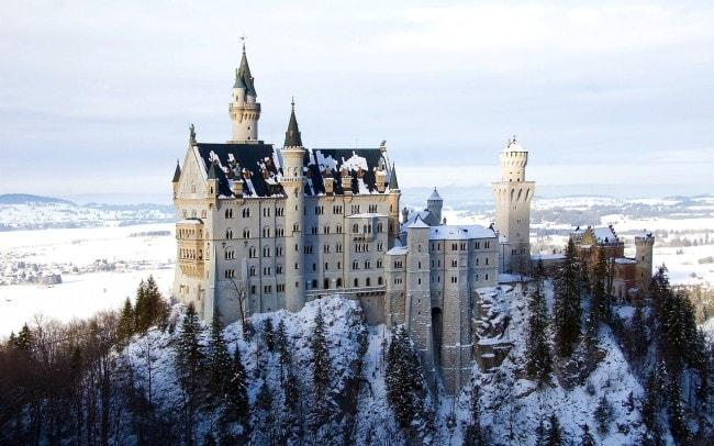 Neuschwanstein Castle Cinderella S Real Life Castle
