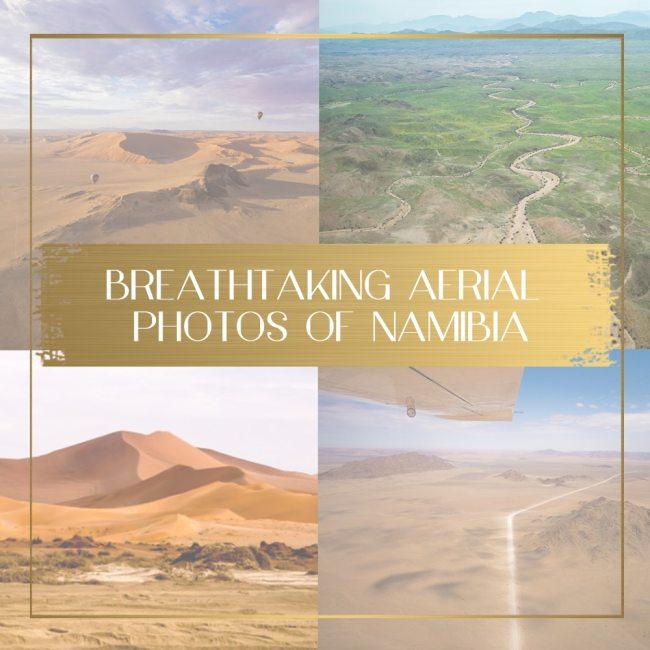 Aerial Photos of Namibia main