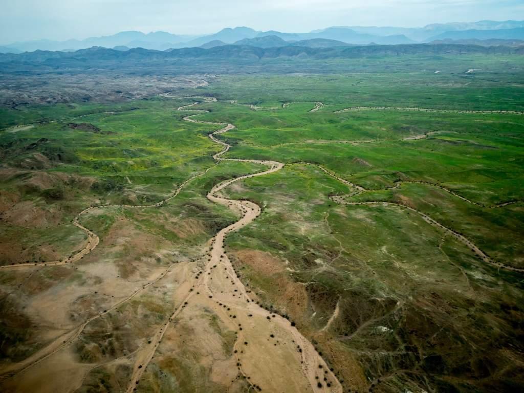 aerial photos of Namibia - Green Namibia