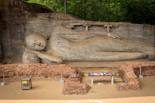 itinerary of Sri Lanka Polonnaruwa