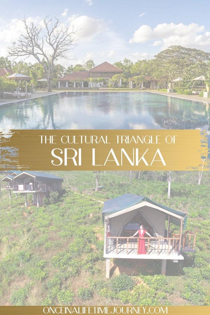 itinerary of Sri Lanka pin