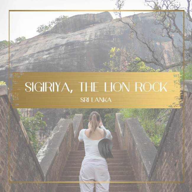 Sigiriya Lion Rock feature