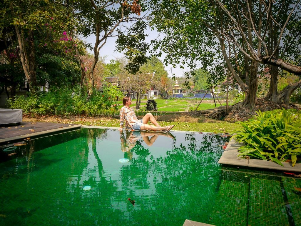 Dhara Devi Chiang Mai Villa pool