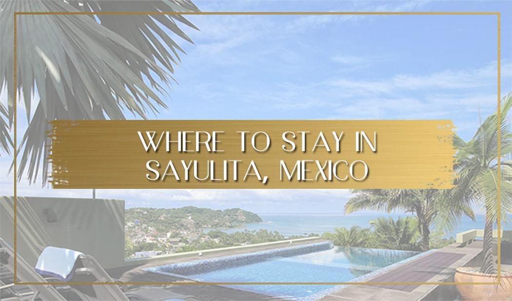 Where to stay in Sayulita main