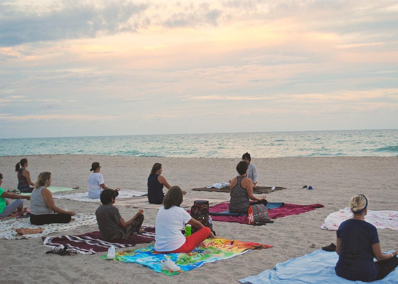 """""""Beach yoga"""""""