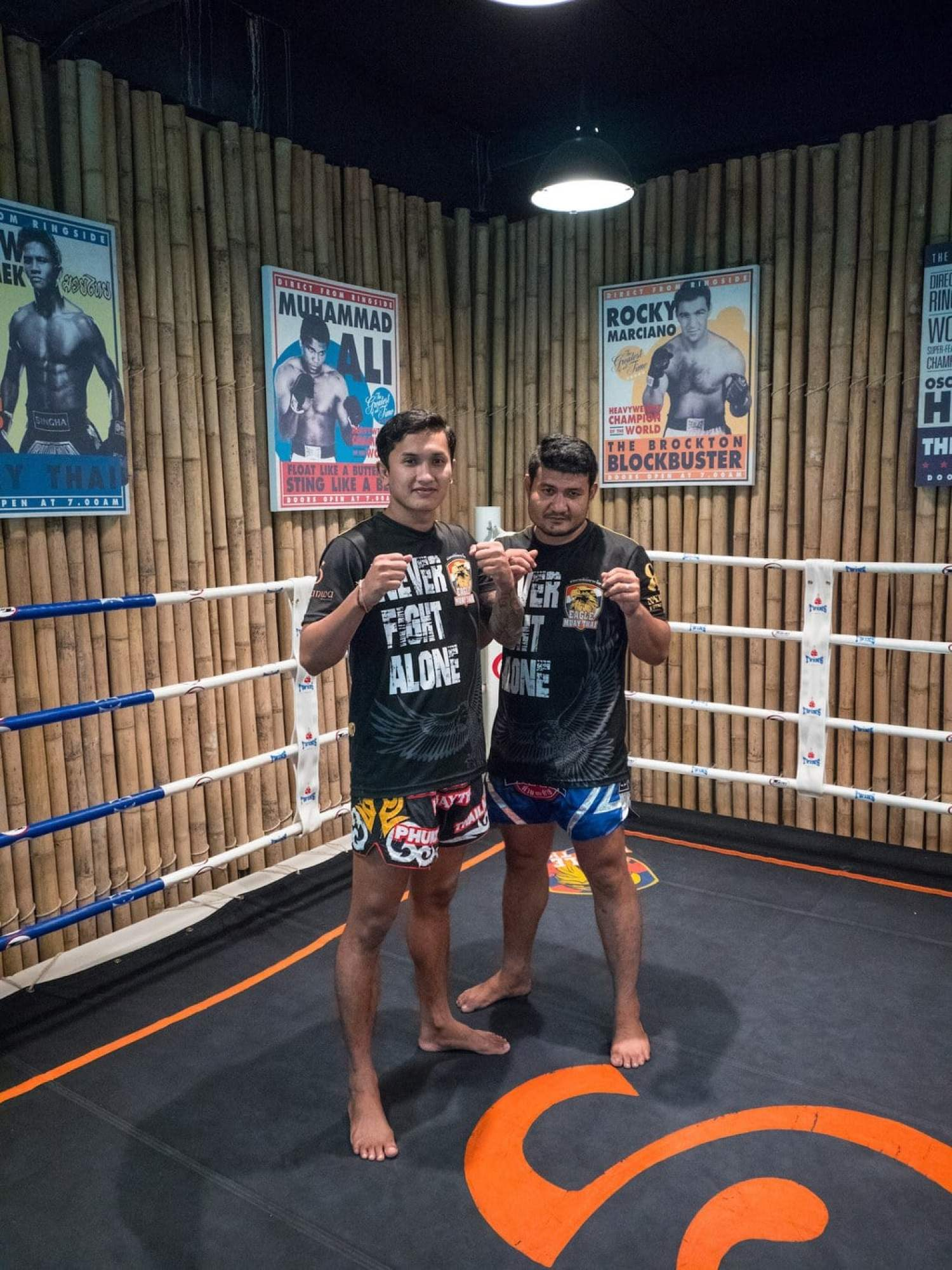 """Thai boxing at Sri Panwa"""