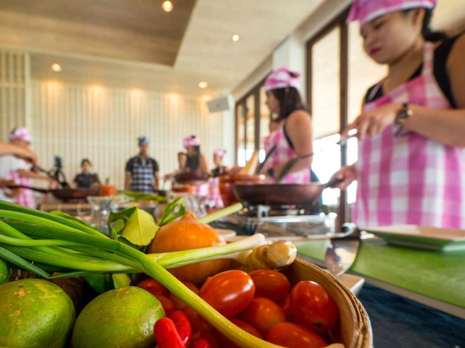 """Thai cooking class at Sri Panwa"""