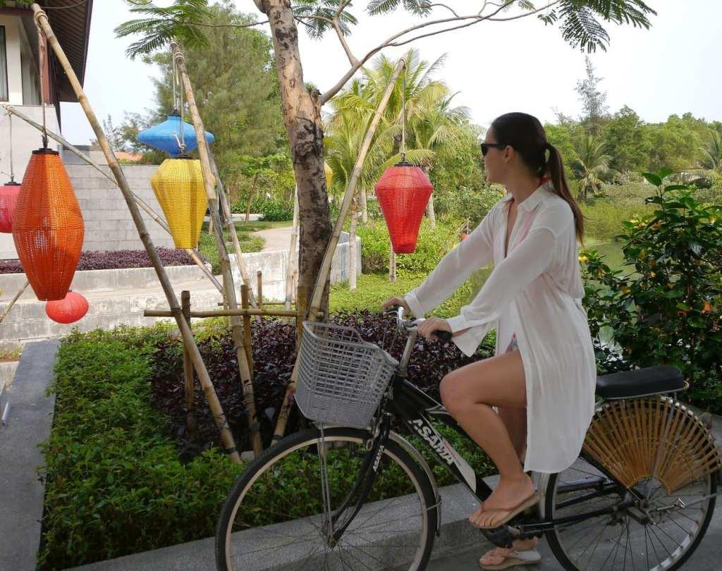 Taking the bikes