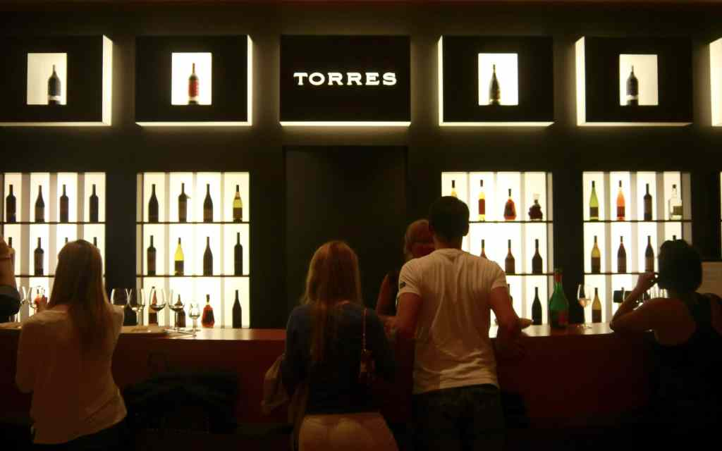Torres winery store