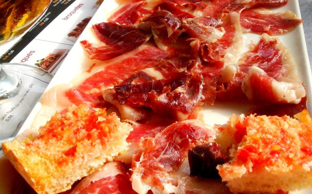 Spanish cured meats - Jamon