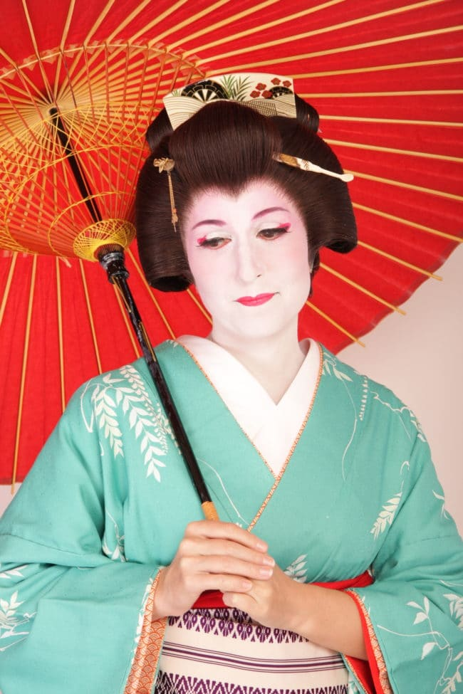 """Geisha transformation"""