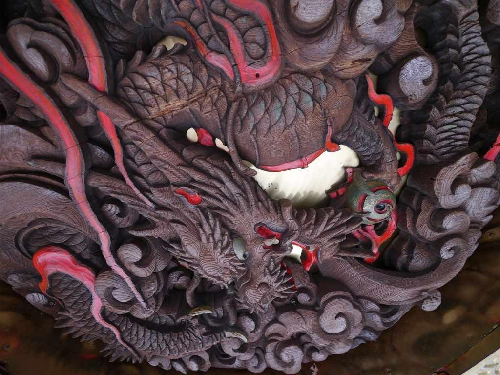Kaminari gate dragon
