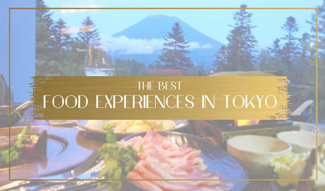 Food experiences in Tokyo main