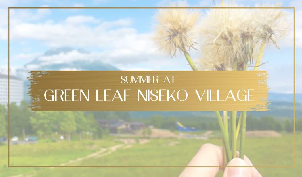 Green Leaf Niseko Village main